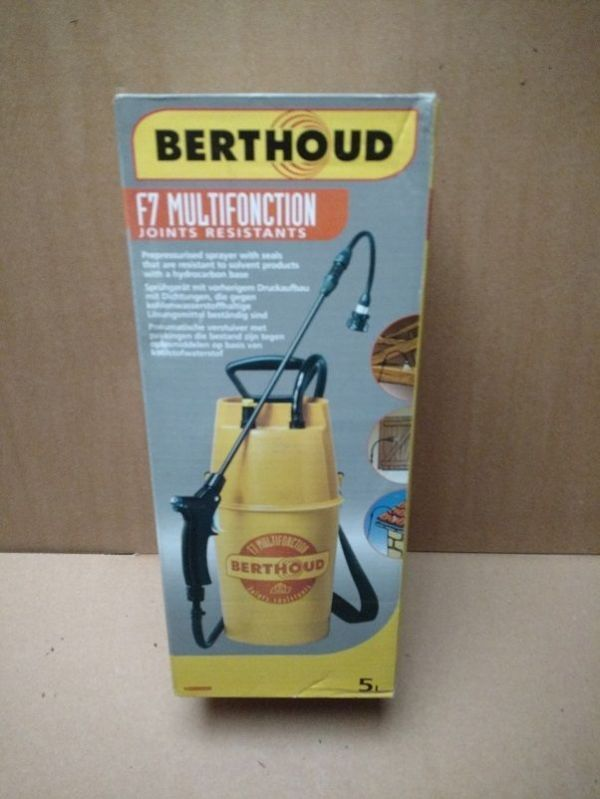 Berthoud F7 Multifunction 5 Litre Pressure Sprayer
